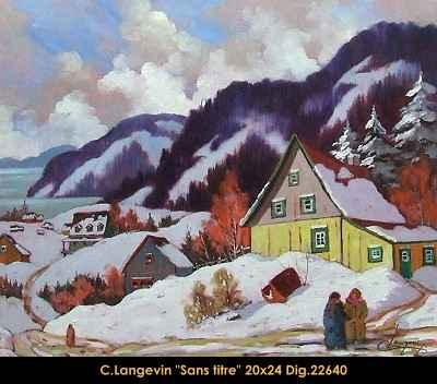 Sans Titre 22640 by  Claude Langevin - Masterpiece Online