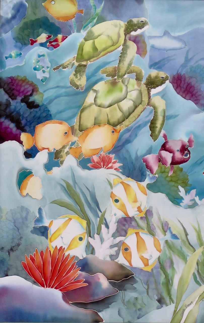 Honu Reef #1 by  Kristi Kranz - Masterpiece Online