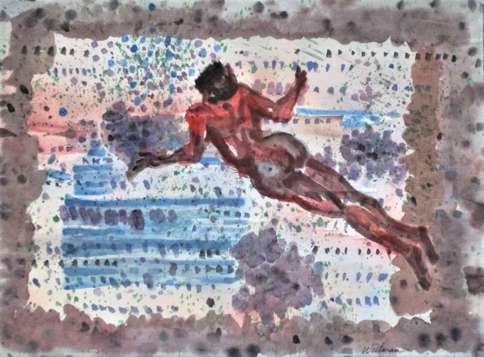 Swimmer by  Harry Widman - Masterpiece Online