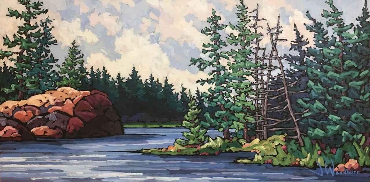 Path to Open Water by Ms Jennifer Woodburn - Masterpiece Online