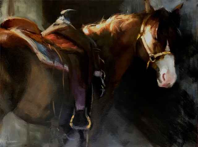 Saddled Up by  Katherine Galbraith - Masterpiece Online