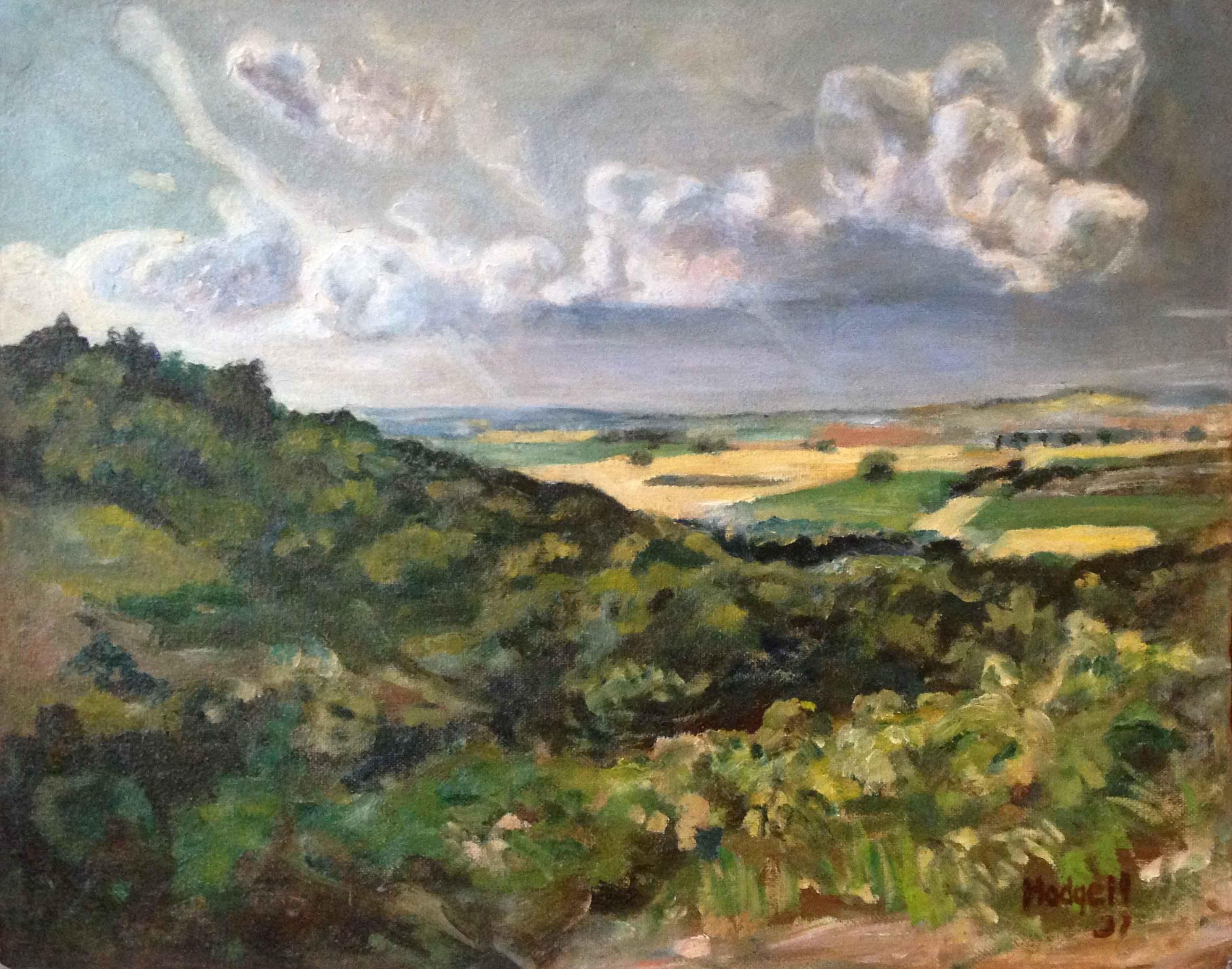 Kansas Summer Landsca... by Mr. Robert Hodgell - Masterpiece Online