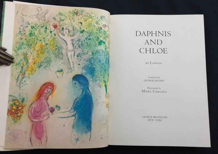 Daphnis and Chloe (Bo... by  Marc Chagall - Masterpiece Online