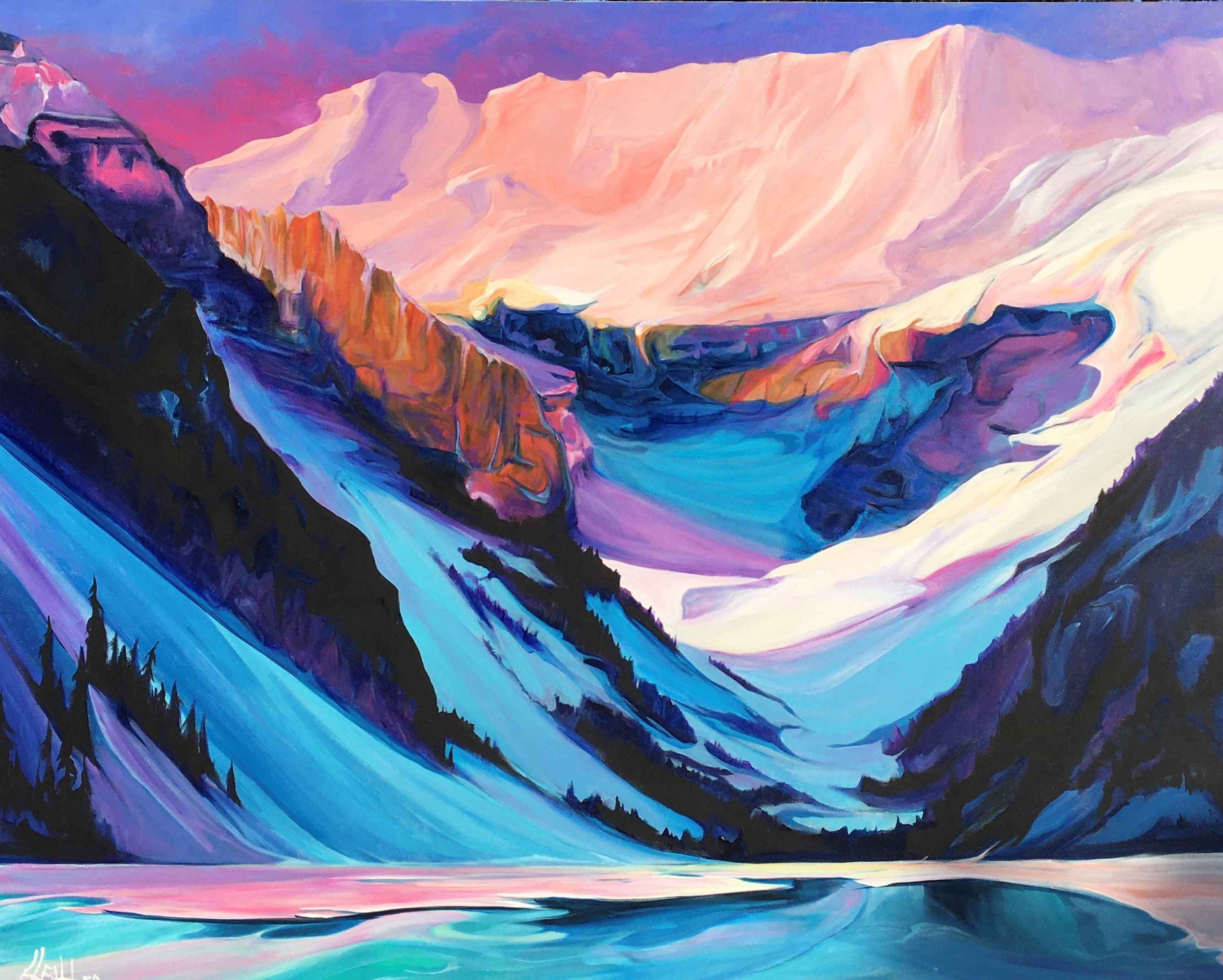 Sunrise at Louise by  Heather Pant - Masterpiece Online