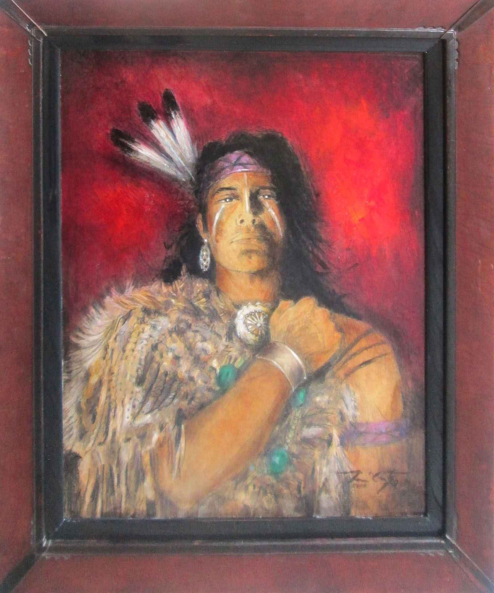 Three Feathers by  Ray McCarty 1934-2018 - Masterpiece Online