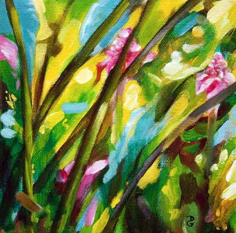 Torch Gingerlillies 1... by  Donna Grandin - Masterpiece Online