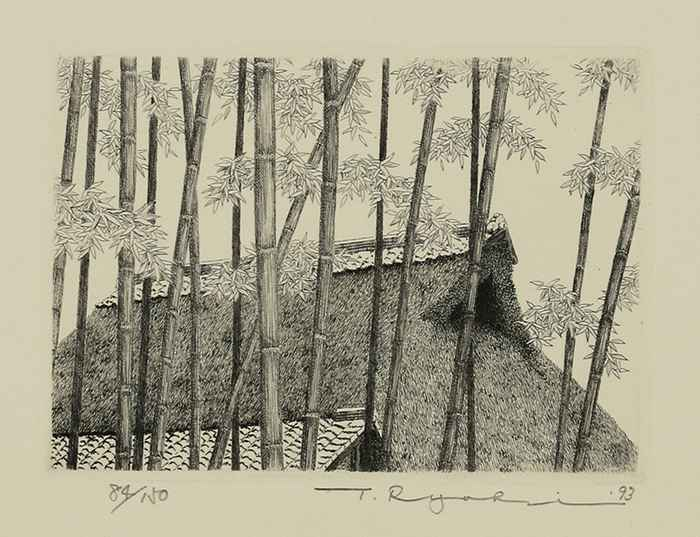 House in Bamboo Grove... by  Ryohei Tanaka - Masterpiece Online