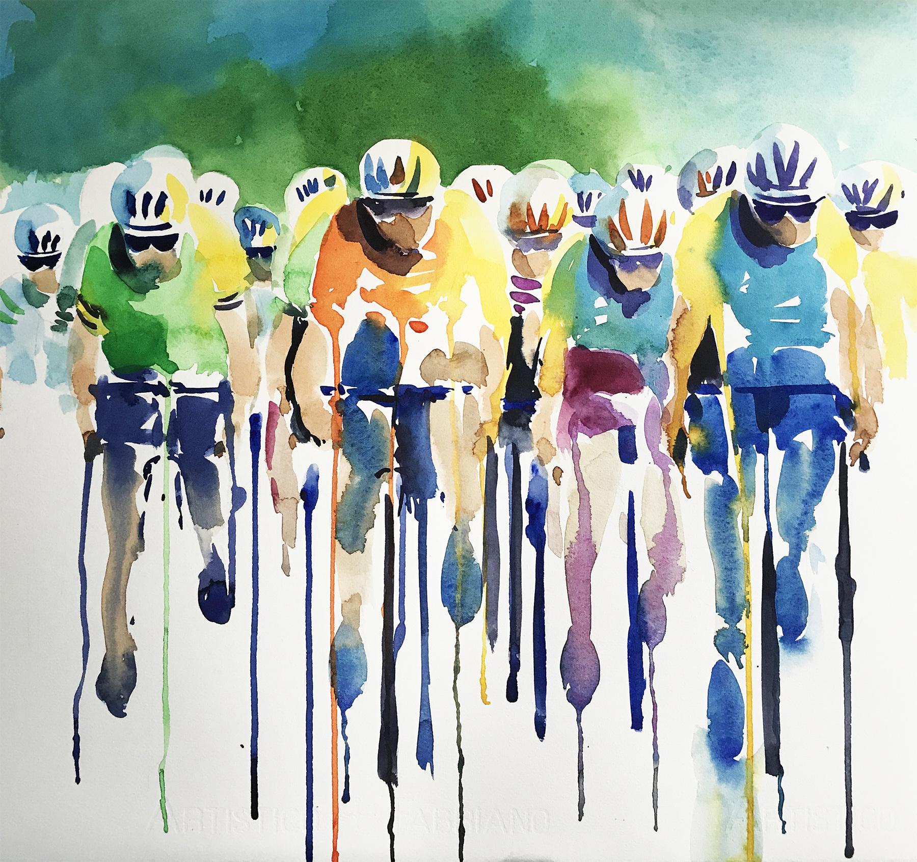 Finish Line by  Sandy Walker - Masterpiece Online