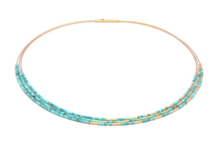 Clia Turquoise Neckla... by  Bernd Wolf - Masterpiece Online