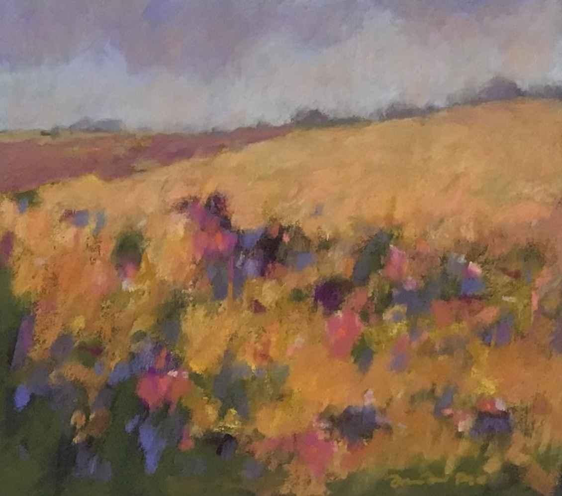 Yellow Field by  Julie Friedman - Masterpiece Online