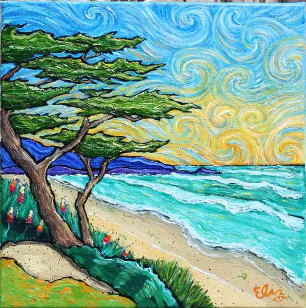 Cypress Splendor by  Elizabeth Jackson - Masterpiece Online
