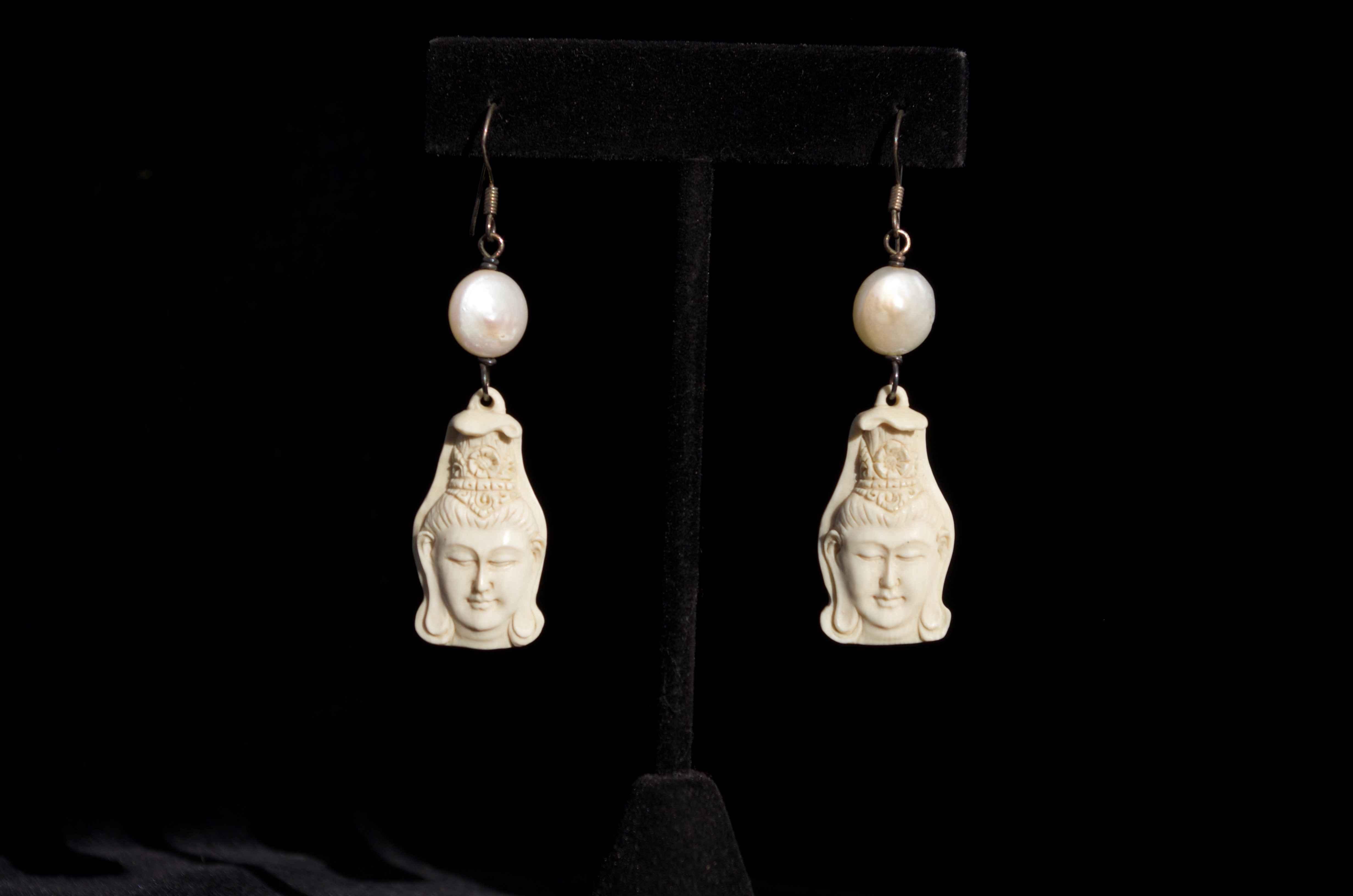 Kuan Yin Earrings by  Susan Tereba - Masterpiece Online