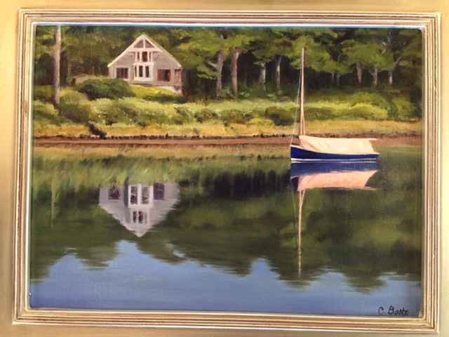 Vineyard Reflections by  Christine Beebe - Masterpiece Online