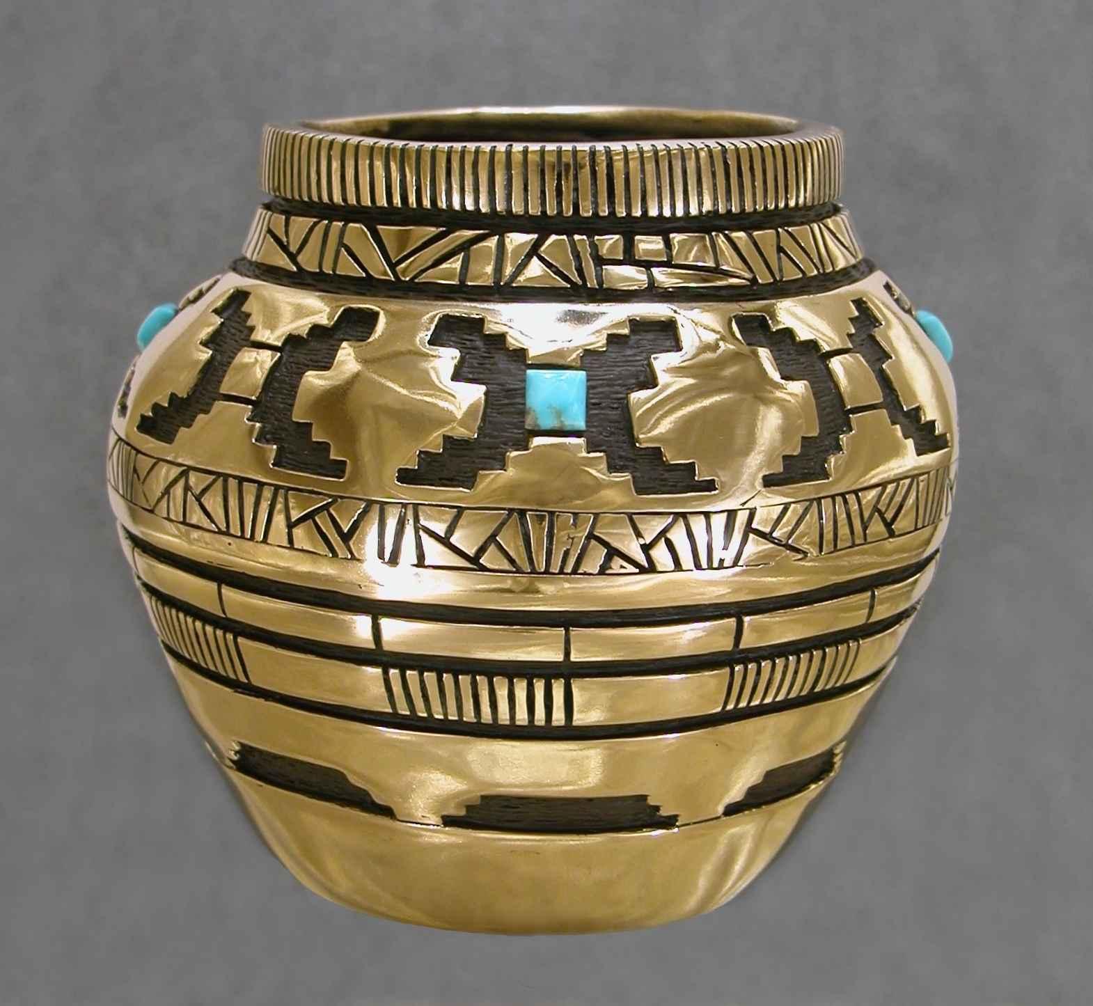 Bronze Vessel With Tu... by Mr. Fred Ortiz - Masterpiece Online