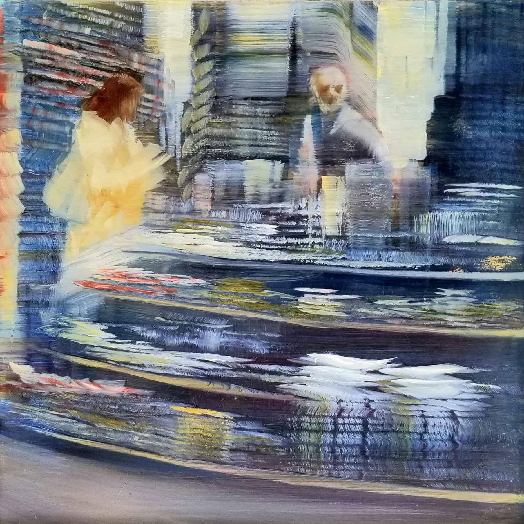 Newsstand in Blue by  David Dunlop - Masterpiece Online