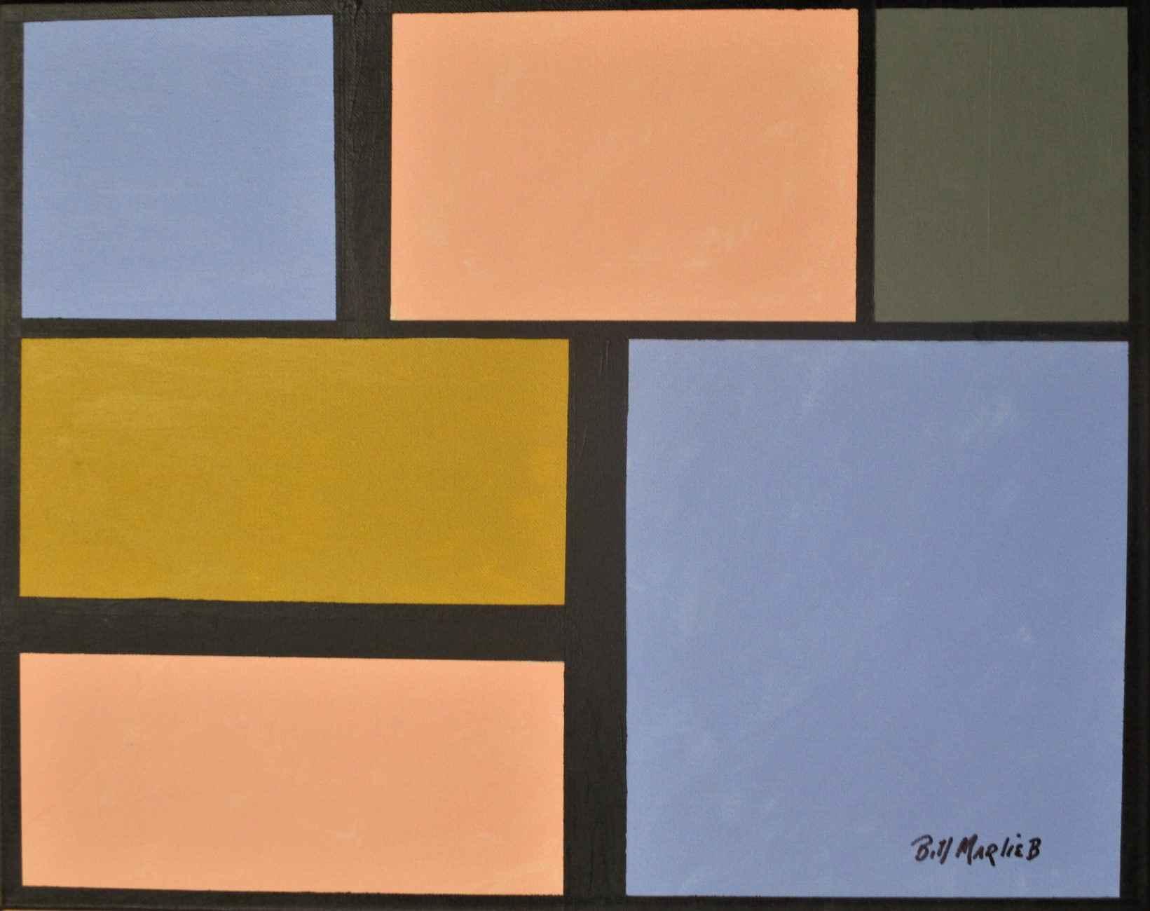 Untitled ( Geometric ... by  Bill Marlieb - Masterpiece Online