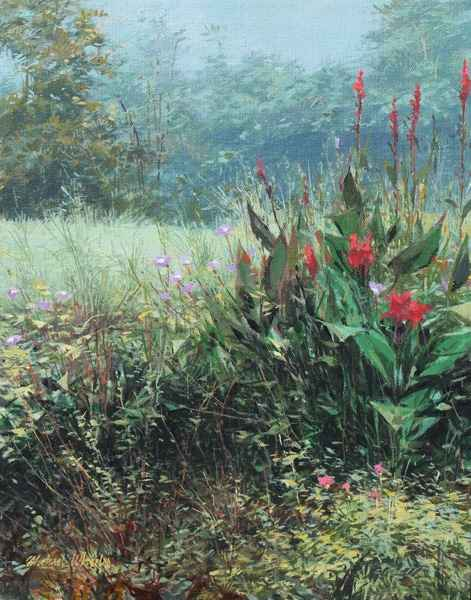 Cannas - Morning Glor... by  Michael Wheeler - Masterpiece Online