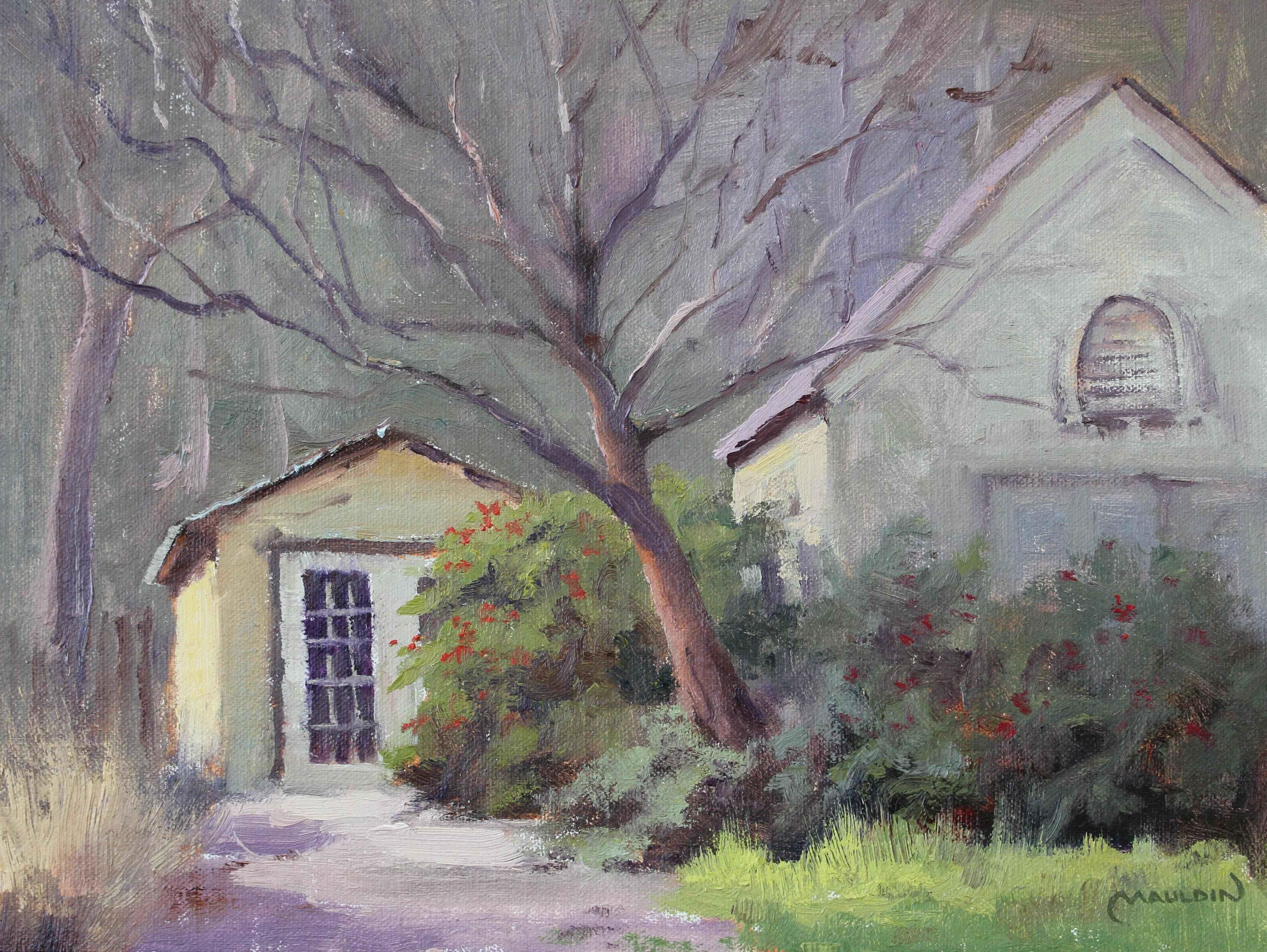 White Rock House by  Chuck Mauldin - Masterpiece Online