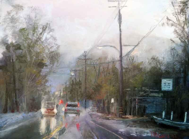 Steady Rain, Casitas ... by Ms. Margi Lucena - Masterpiece Online