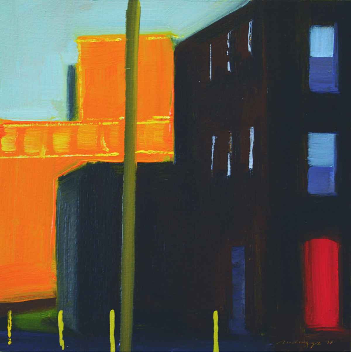 Building Blocks Sketch by  Michael Driggs - Masterpiece Online