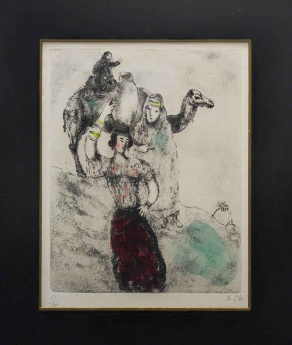 Rebecca at the Well by  Marc Chagall - Masterpiece Online