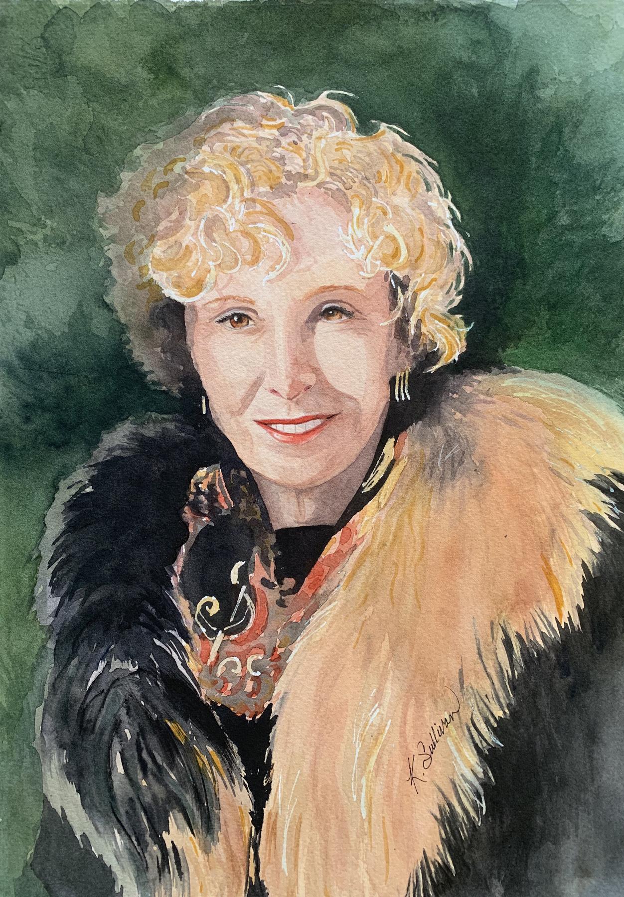 Sunshine in Her Eyes by  Kay Sullivan - Masterpiece Online