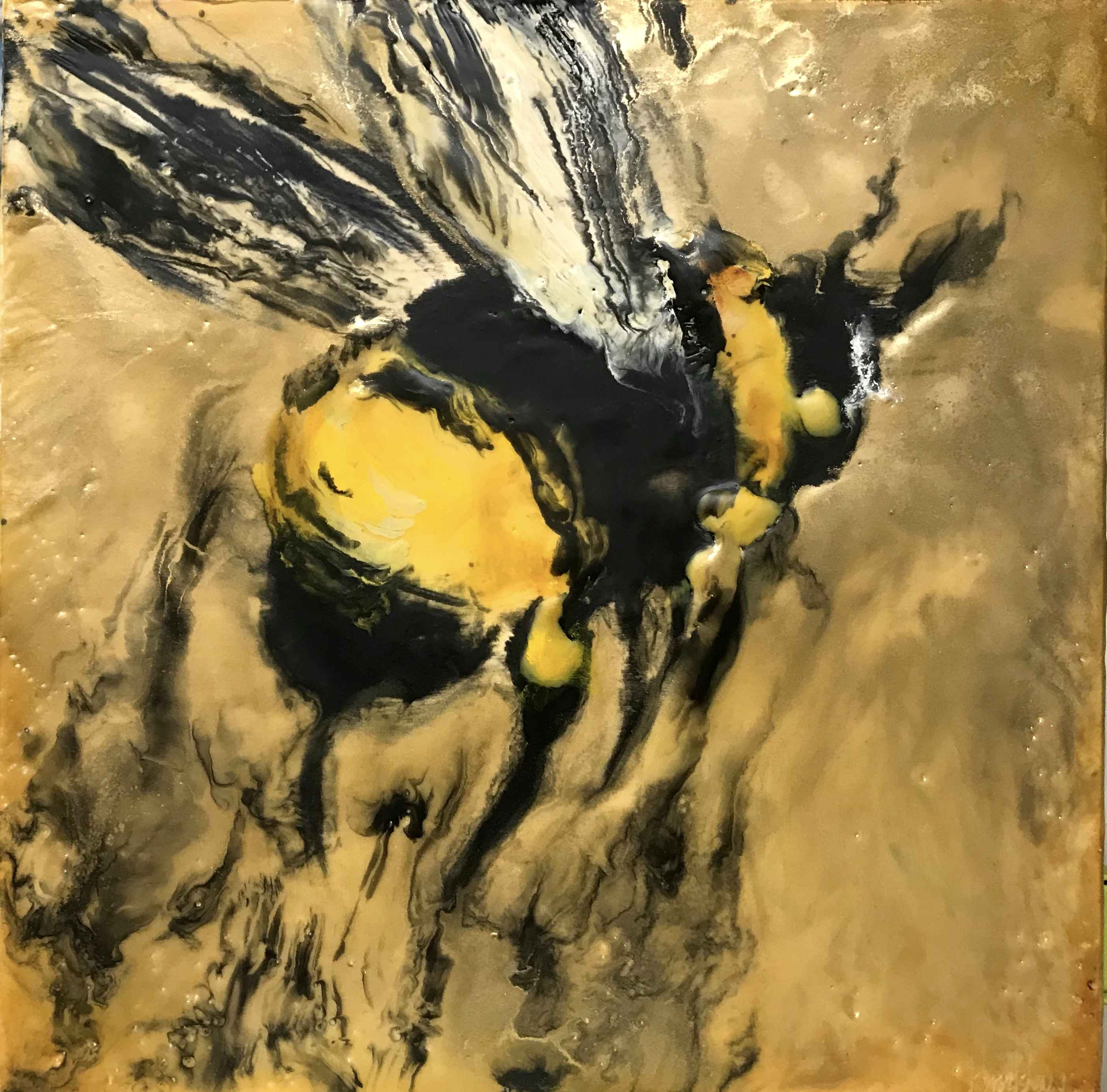 Gold Bee II by  Kathy Bradshaw - Masterpiece Online