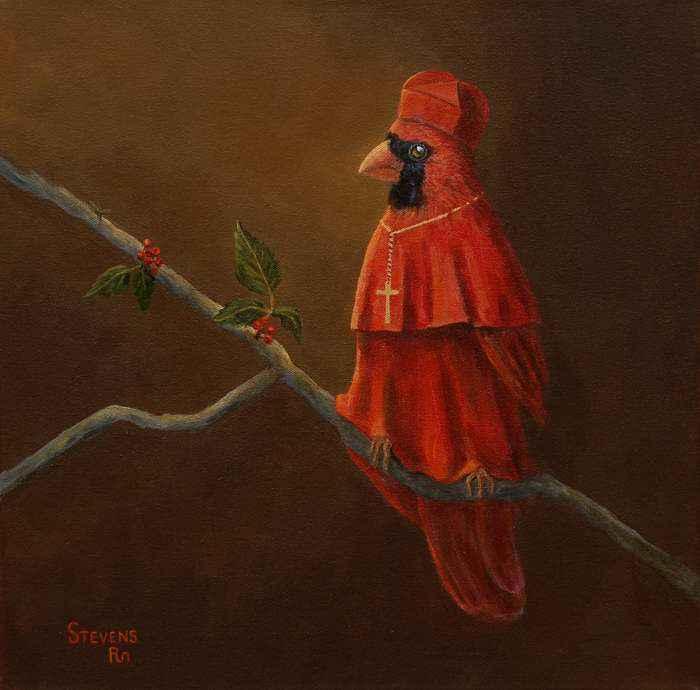 The Cardinal by Ms Sandra Stevens - Masterpiece Online