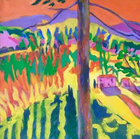 Untitled (Colorful Ab... by  Mary Theisen - Helm - Masterpiece Online