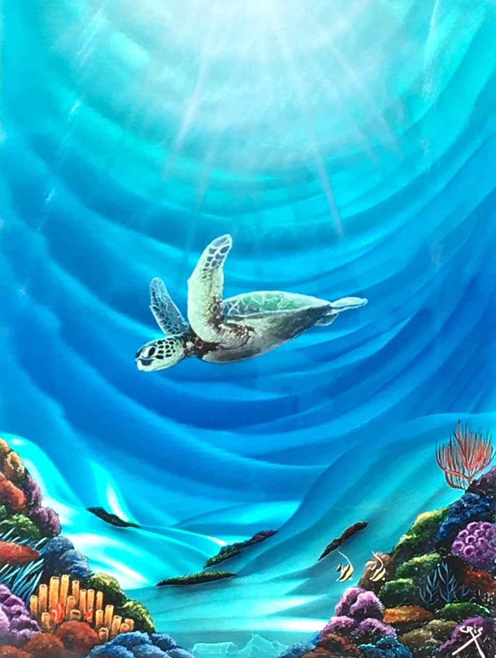 Fly-By by  Cris Woloszak - Masterpiece Online