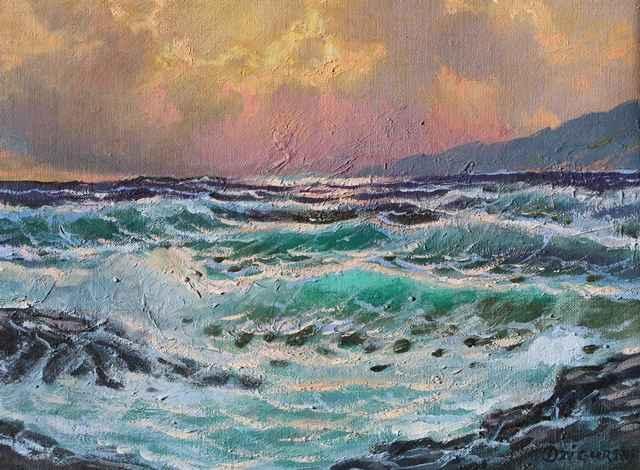 Sunlit Breakers by  A Dzigurski II - Masterpiece Online
