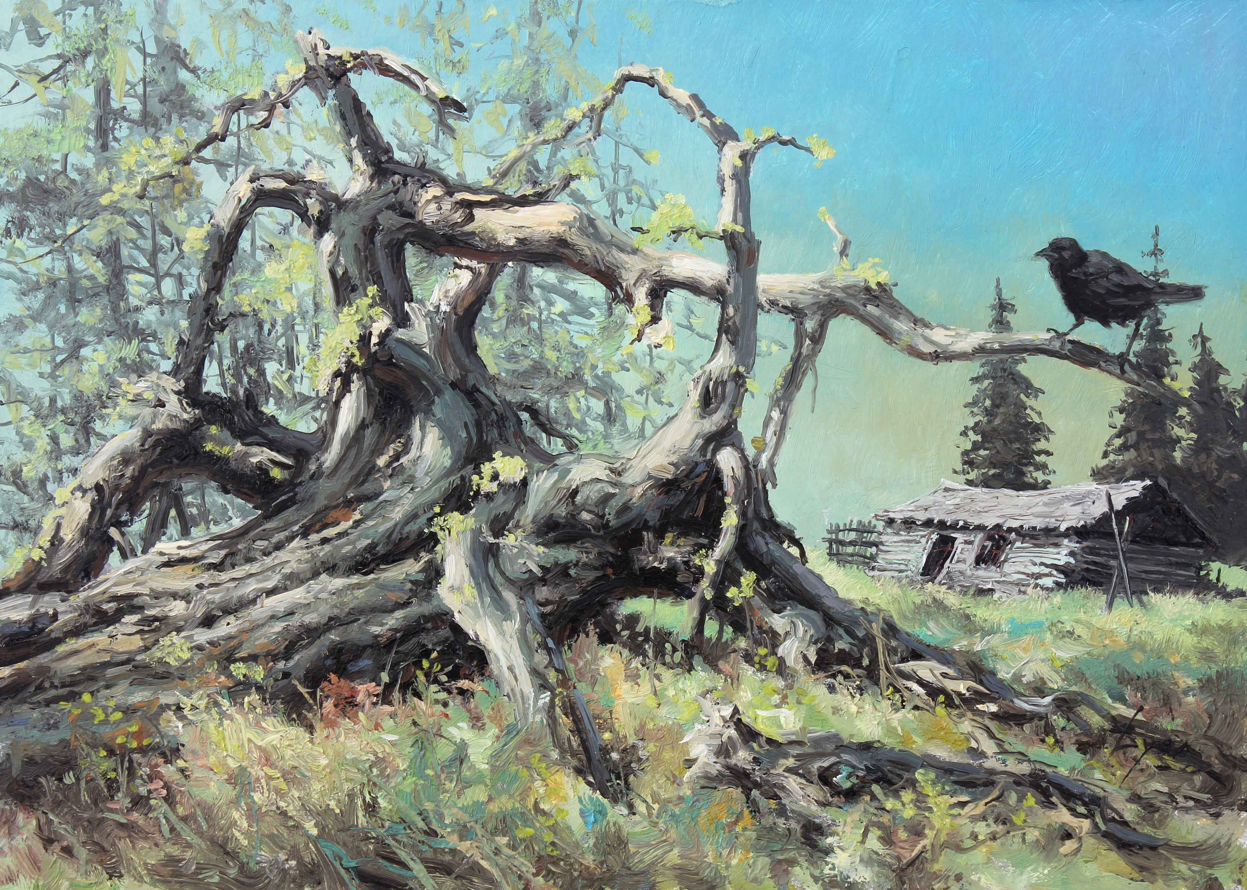 Edge of the Forest represented  by  Harold Lyon