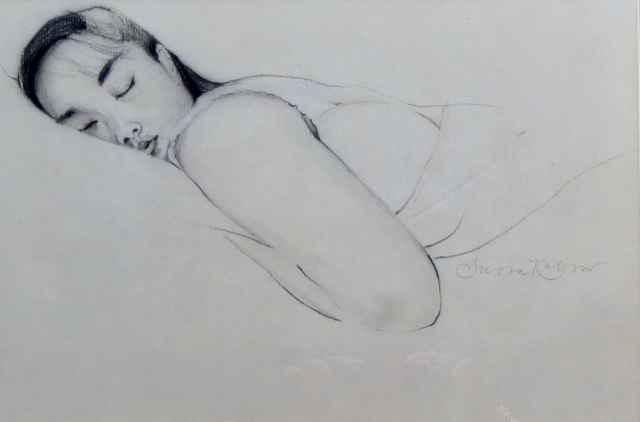 Olivia at Rest by Mrs. Susan Kobzev - Masterpiece Online