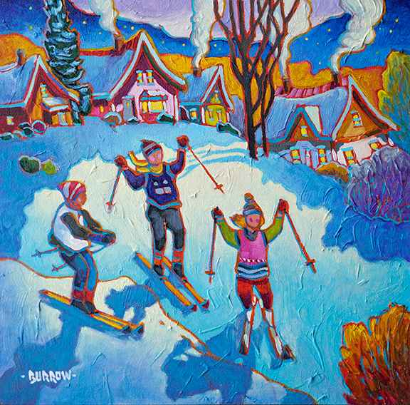 Local Ski Club by Mr John Burrow - Masterpiece Online