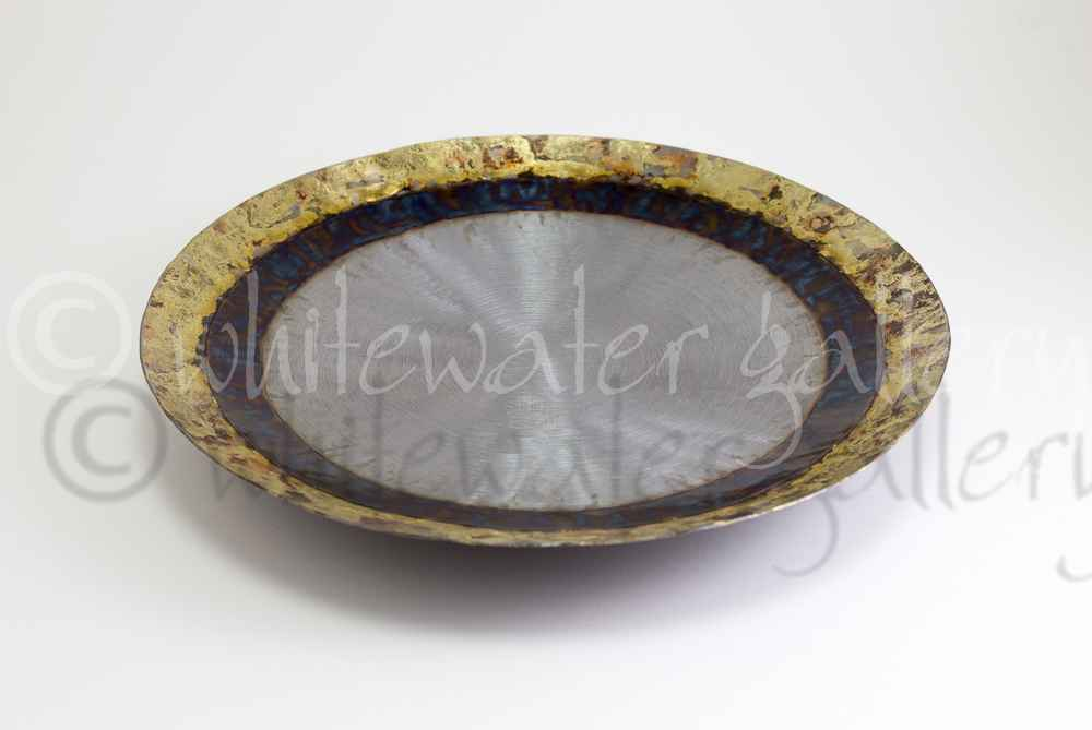 35cm Bowl with Bronze... by  Tilly Whittle - Masterpiece Online