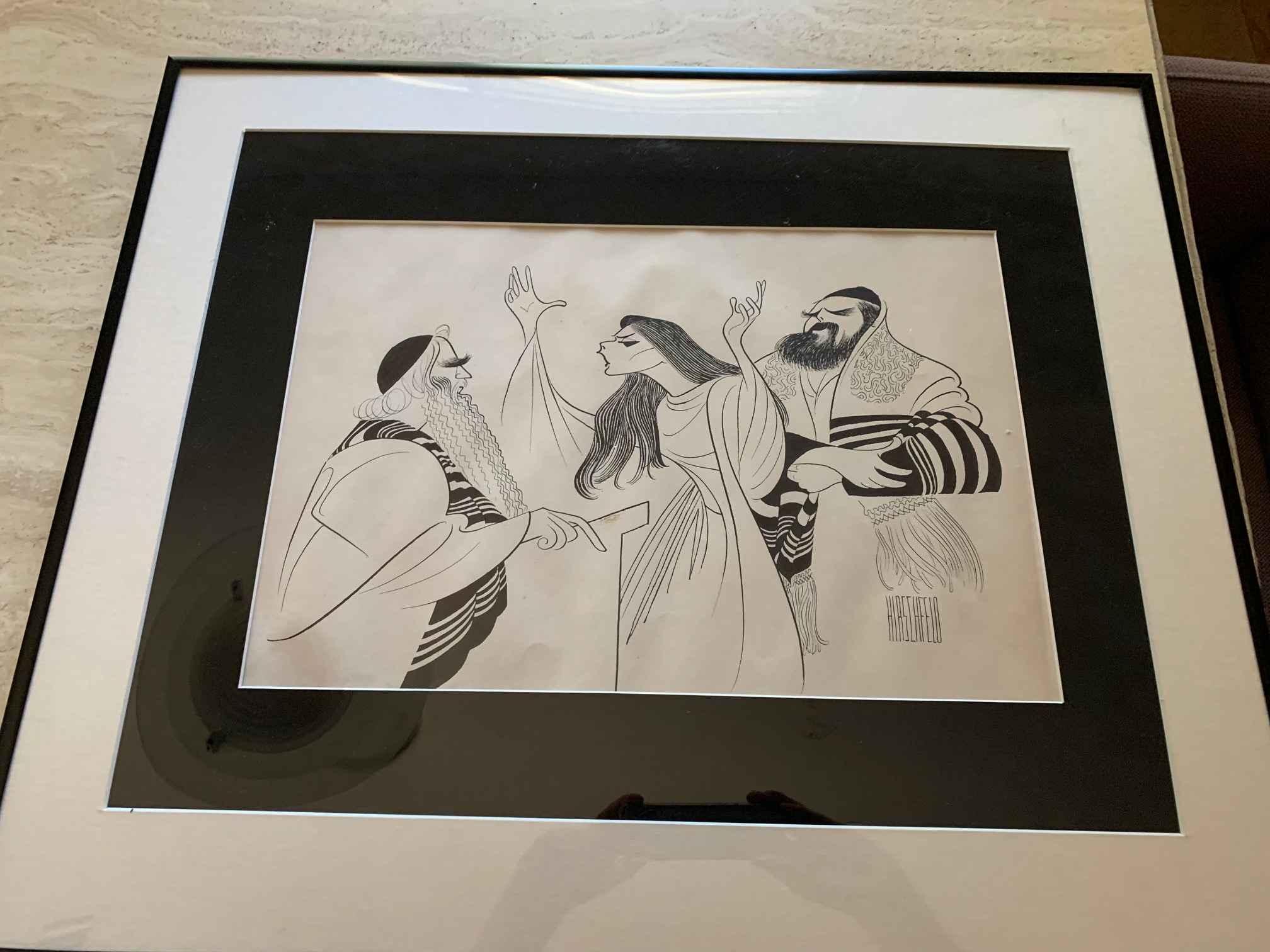 The Dybbuk by  Al Hirschfeld - Masterpiece Online