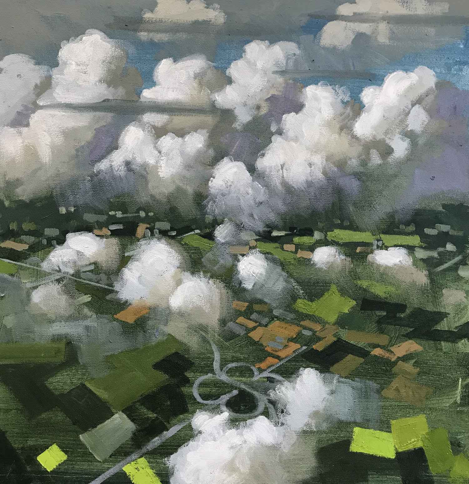Asheville Skies II by  Christopher Peterson - Masterpiece Online