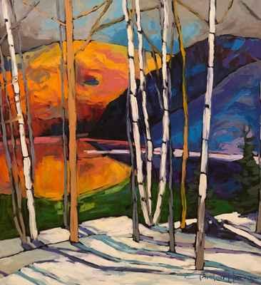 Meech Lake-Gatineau P... by  Gordon Harrison - Masterpiece Online