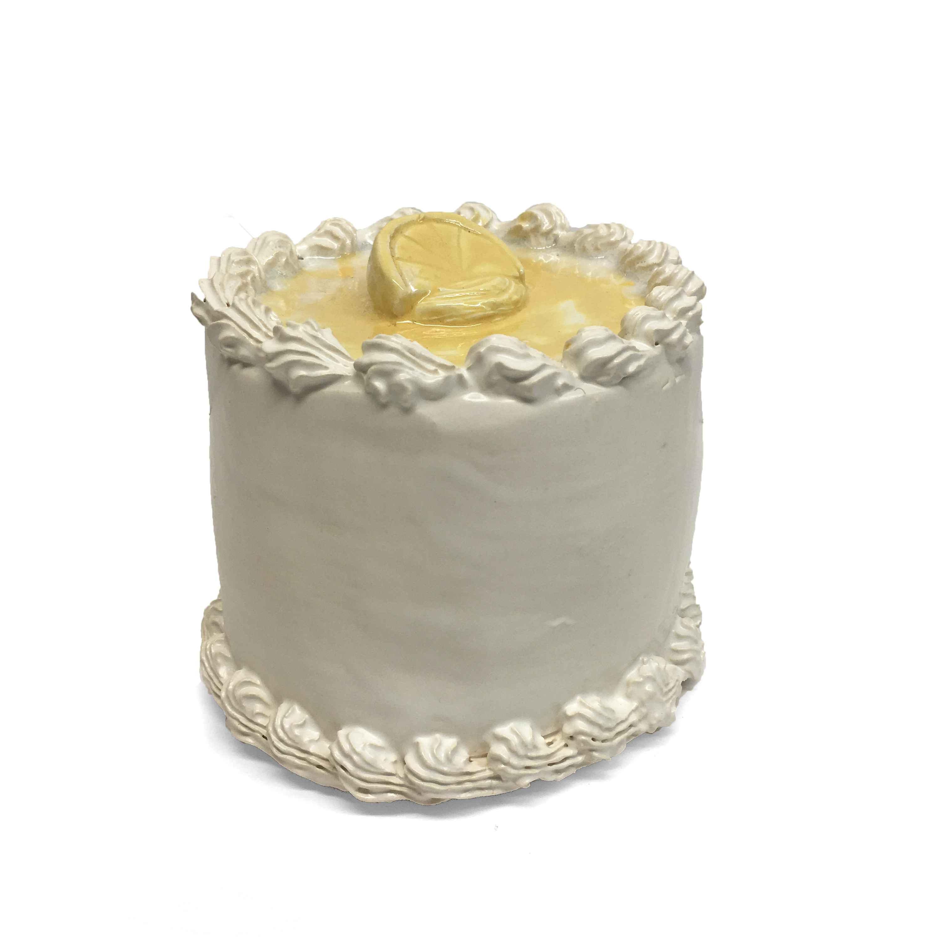 Lemon Topped Cake  by  Jeff Nebeker