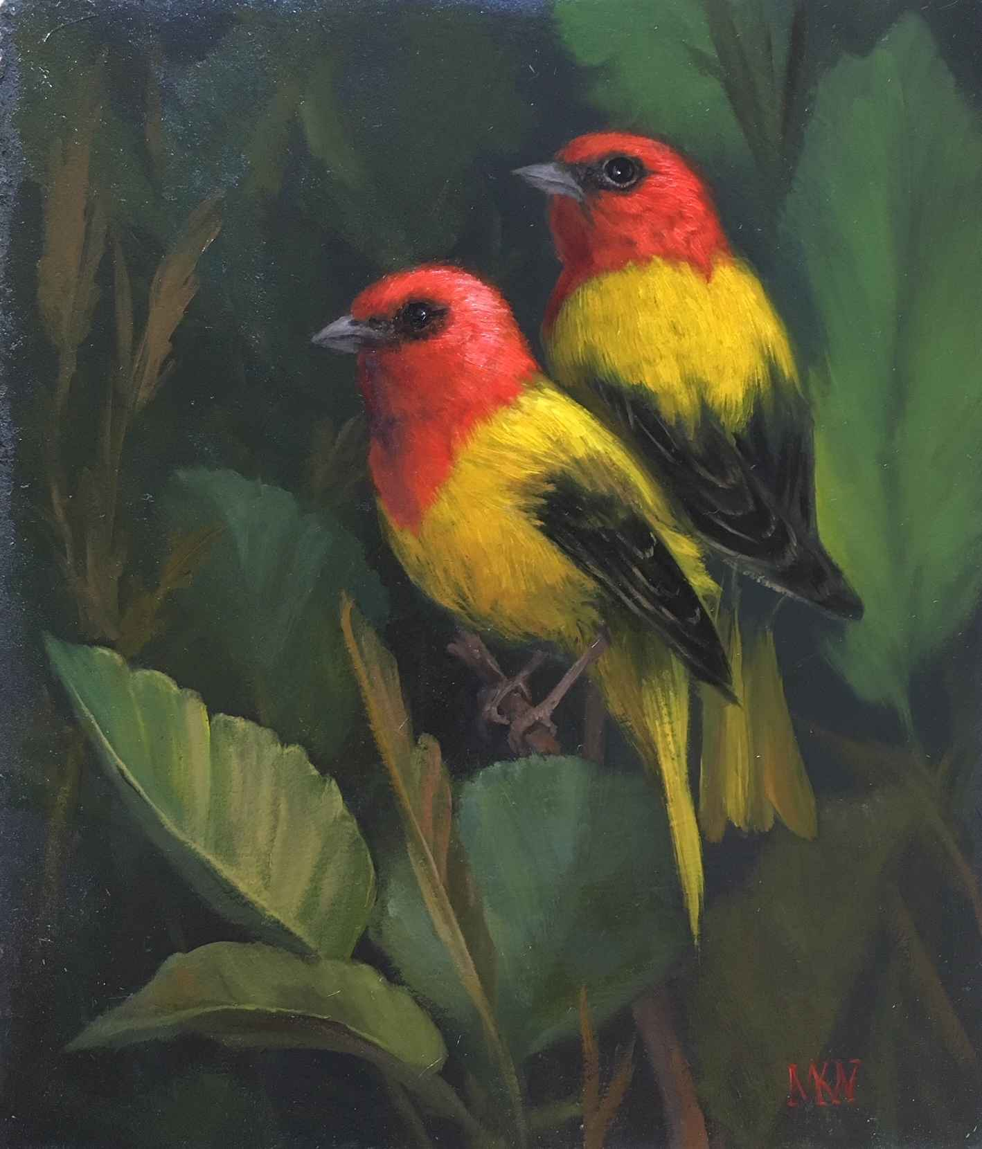 Tropical Beauties by  Mary Kay  West  - Masterpiece Online