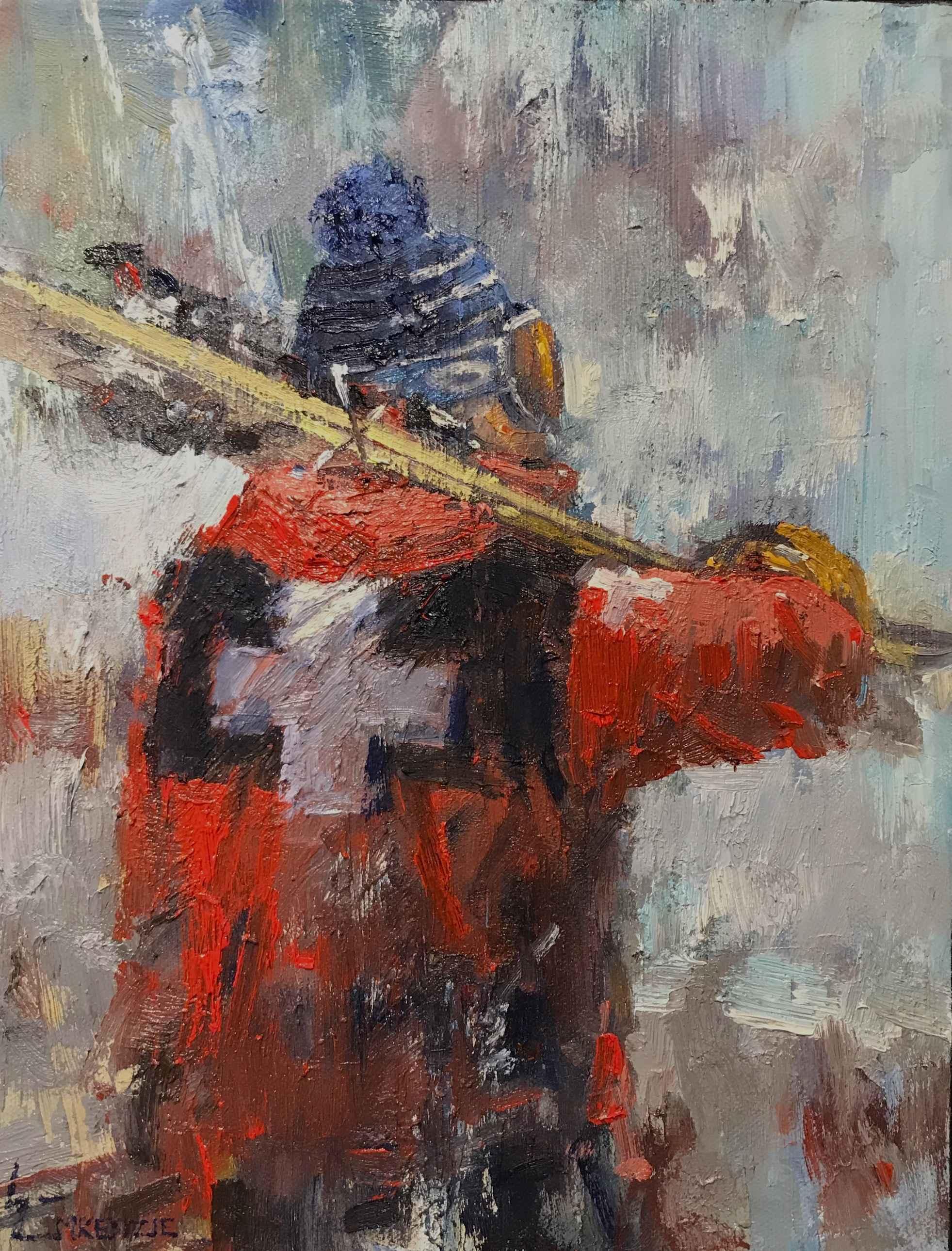 Ski Patrol by Mr. Wayne McKenzie - Masterpiece Online