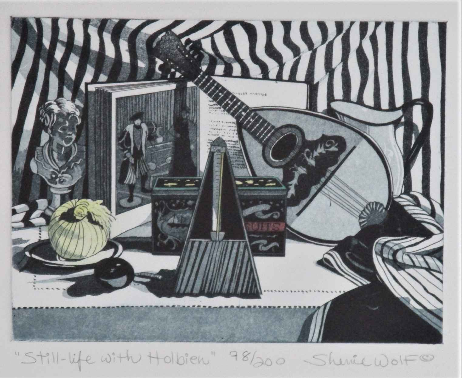 Still Life with Holbe... by  Sherrie Wolf - Masterpiece Online