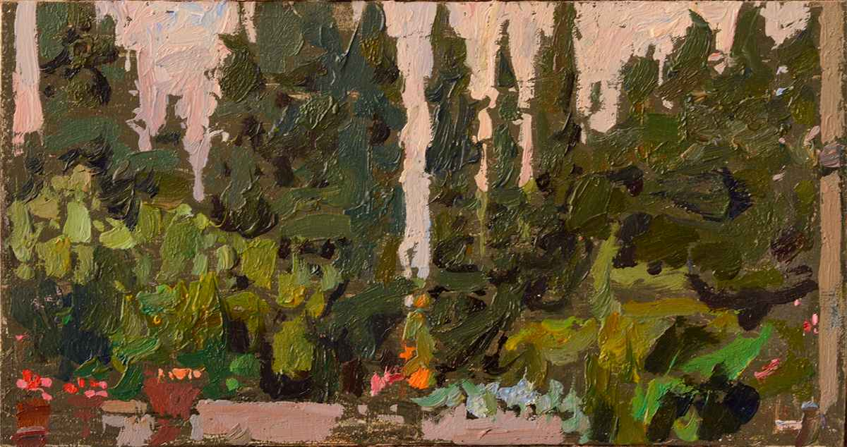 Montereggi Terrace by  Daud Akhriev - Masterpiece Online