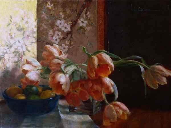 Tulip Tangent by  Kim Carlton - Masterpiece Online