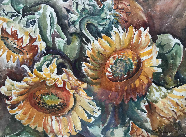 Sunflowers by  Gilberta Goodwin - Masterpiece Online