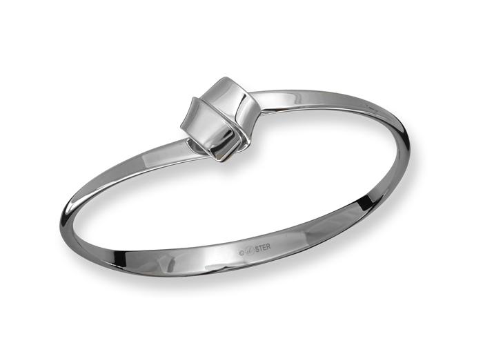 Love Knot Bracelet Sterling Silver, size L