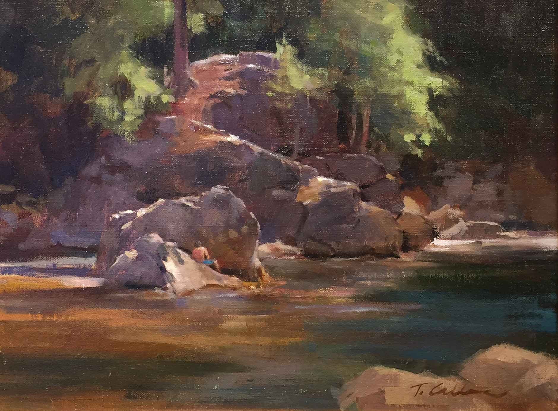 On the River  by  Tammy Callens