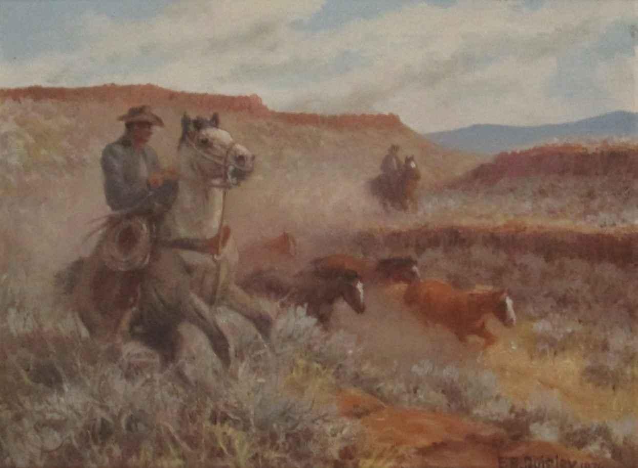 Unknown (Cowboy Rider) by  Edward Quigley - Masterpiece Online