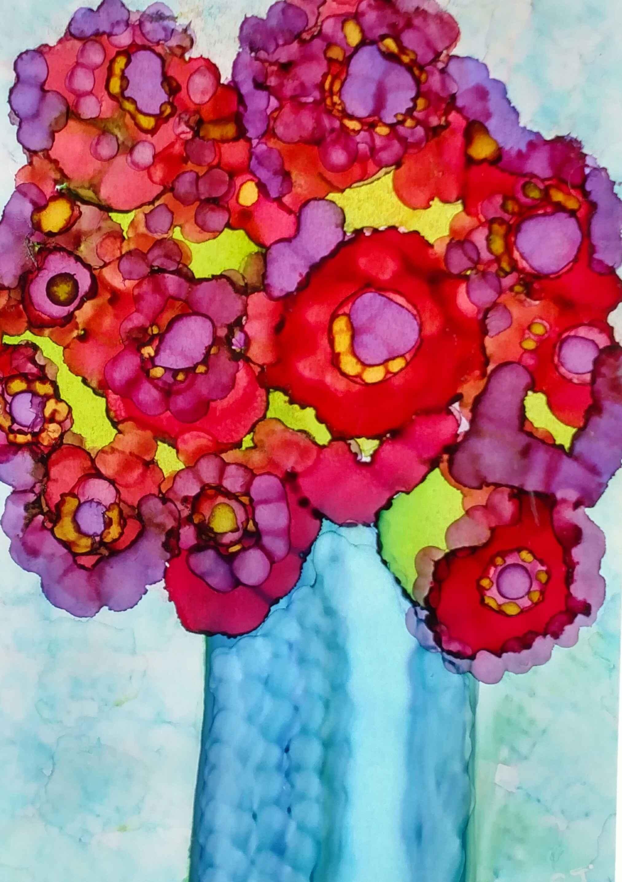 Blue Vase #2 by  Shirley Johnson - Masterpiece Online
