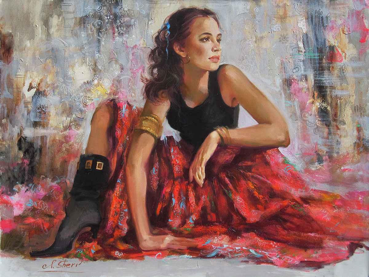 Beautiful Dancer by  Irene Sheri - Masterpiece Online
